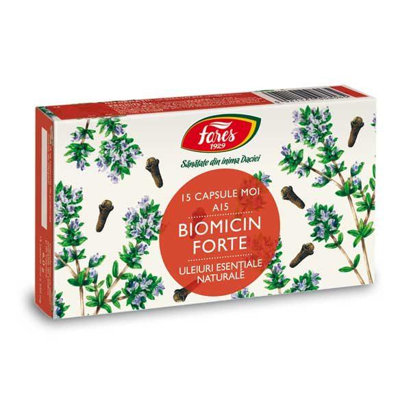 Biomicin Forte FARES (A15) 15cps