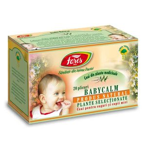 Ceai Baby Calm Fares 20dz