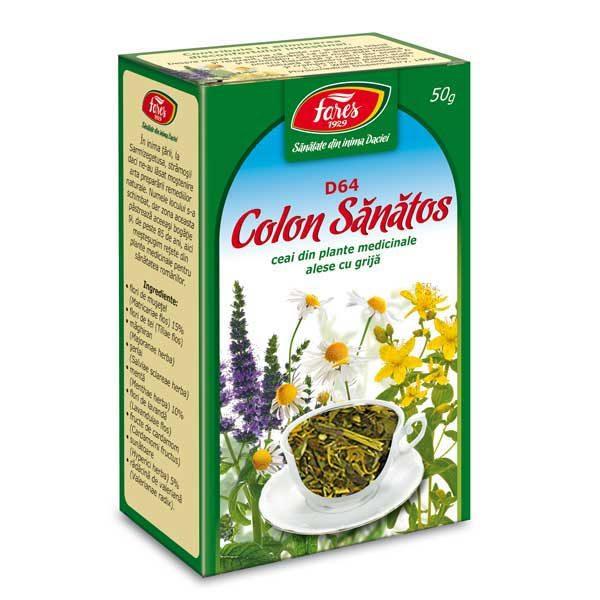 Ceai Colon Sanatos 50gr FARES
