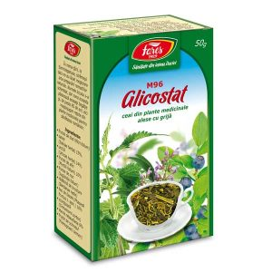 Ceai Diabet Glicostat Fares 50g