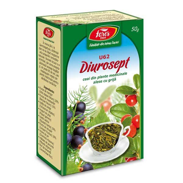 Ceai Diurosept (U62) 50gr FARES