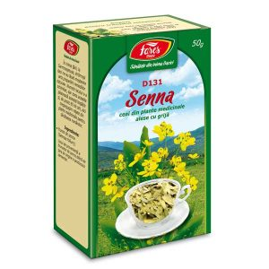 Ceai Frunze de Senna Fares 50g