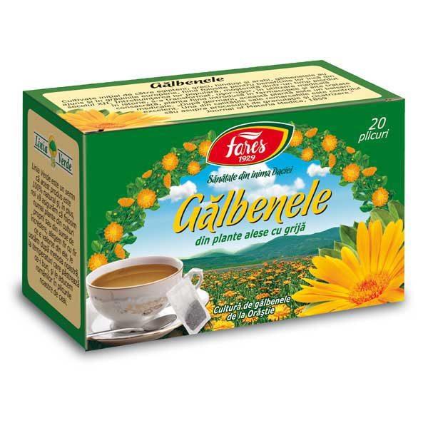 Ceai Galbenele 20dz FARES