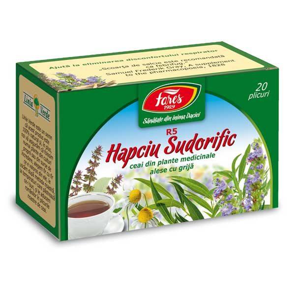 Ceai Hapciu Sudorific R5 Fares 20dz