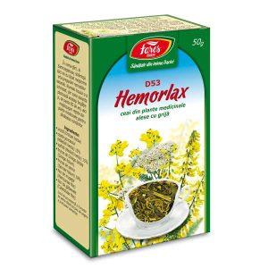 Ceai Hemorlax (Antihemoroidal) (D53) Fares 50g