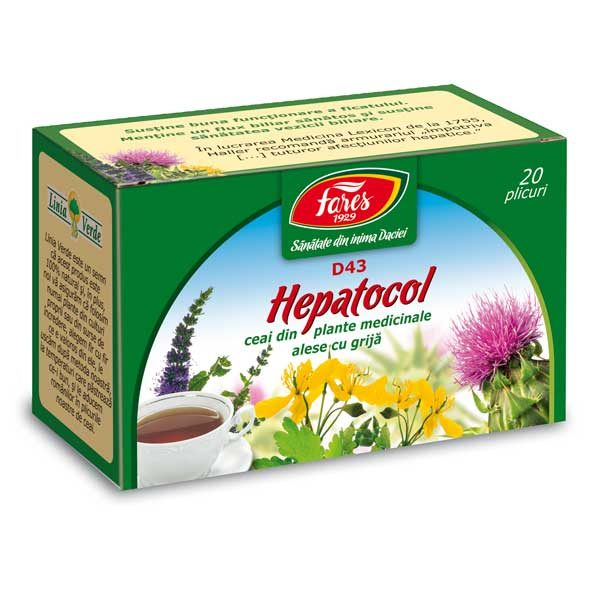 Ceai Hepatocol Fares 20dz