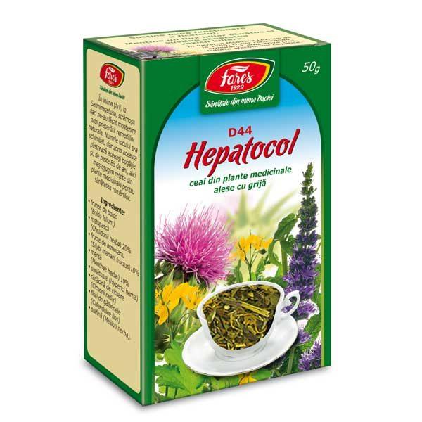 Ceai Hepatocol Fares 50g