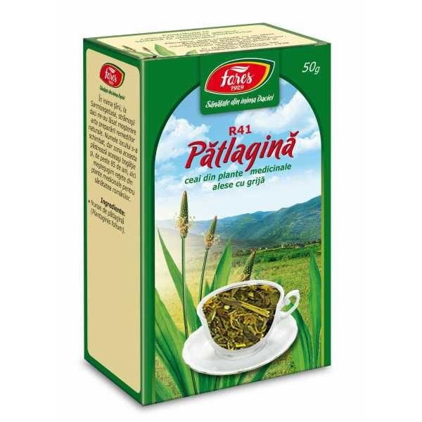 Ceai Patlagina Frunze 50g FARES