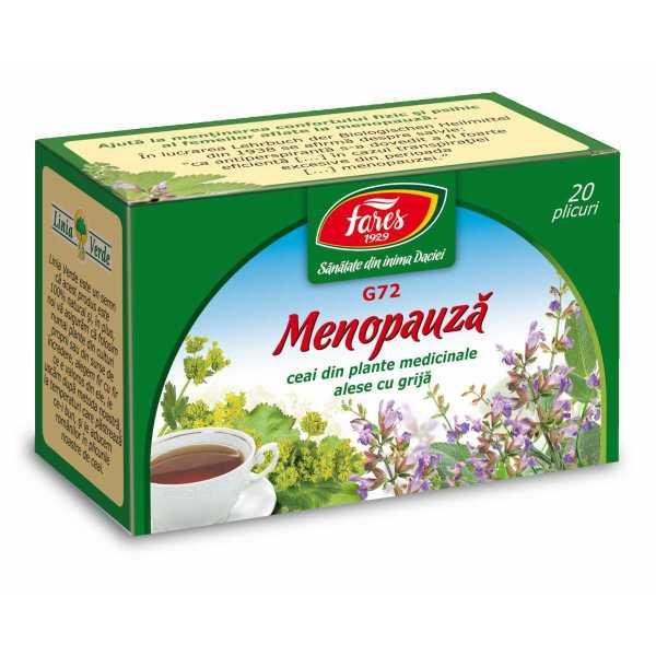 Ceai Tulburari de Menopauza Fares 20dz - Arome si Gusturi