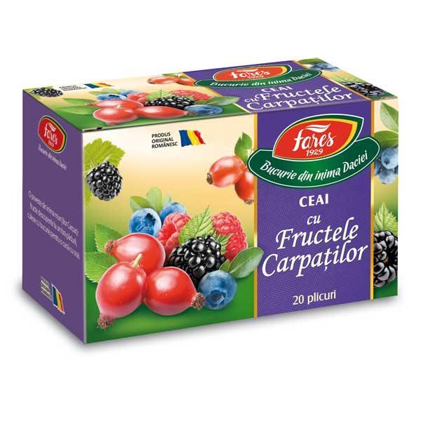 Ceai Aromfruct Fructele Carpatilor 20dz FARES