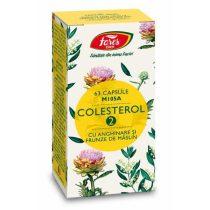Colesterol 2 Fares cu Anghinare si Frunze de Maslin (M105A) 63cps