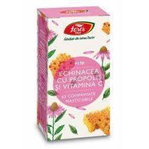Echinacea cu Propolis si Vitamina C Fares (F170) 63cpr