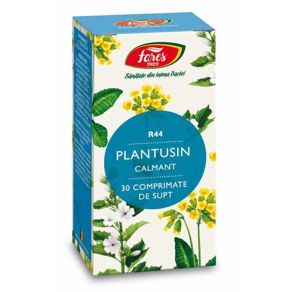 Plantusin Calmant (R44) 30cpr masticabile FARES