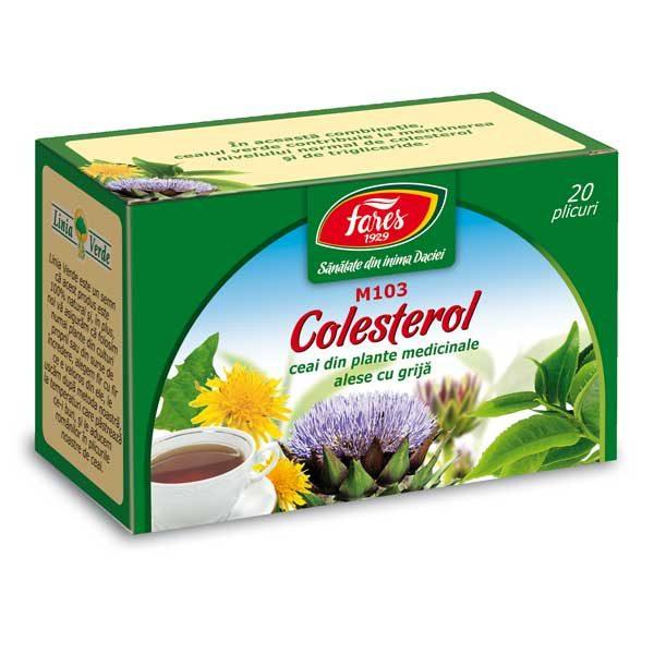 Ceai Colesterol 20 Dz FARES