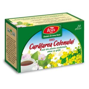 Ceai curatarea Colonului Fares 20dz