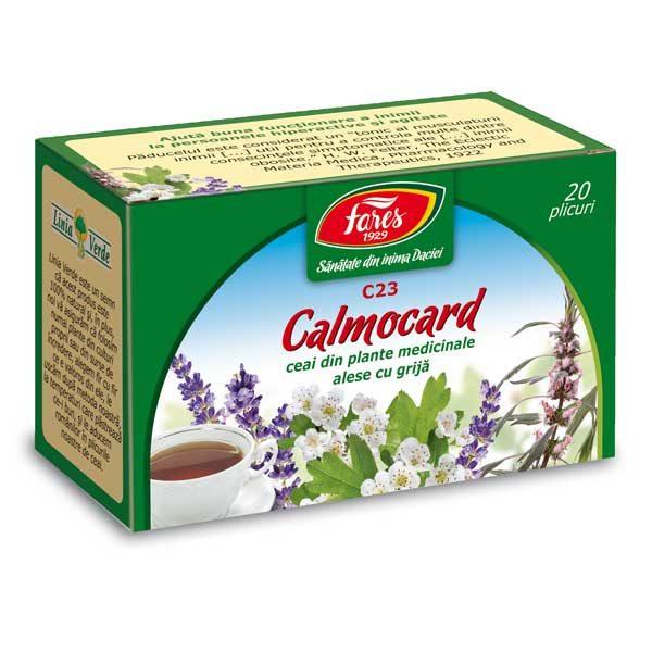 Ceai Calmocard (Calmant Cardiac) 20Dz FARES