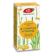 Suplimente B Complex Vitamine Fares 60 capsule
