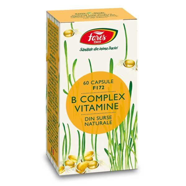 B Complex Vitamine Naturale Fares (F172) 60cps