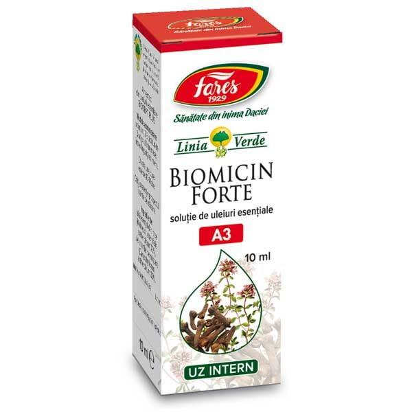 Biomicin Forte Fares Solutie de Uleiuri Esentiale 10ml