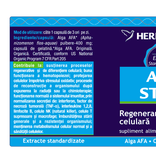 Afa Stem 30cps HERBAGETICA