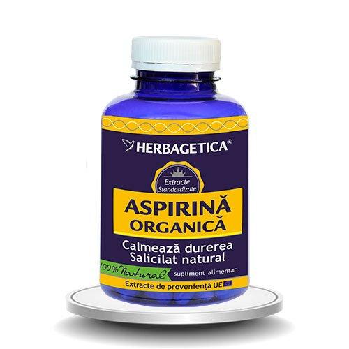 Aspirina Organica 120cps HERBAGETICA