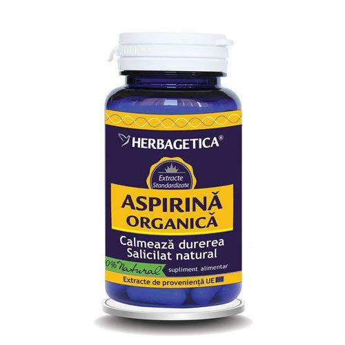 Aspirina Organica 60cps HERBAGETICA