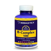 B Complex 100 Herbagetica 120cps
