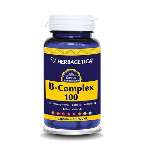 B Complex 100 60cps HERBAGETICA