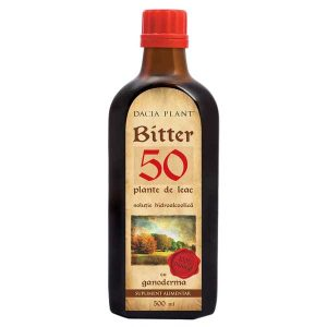 Bitter 50 cu Ganoderma Remediu Dacia Plant 500ml