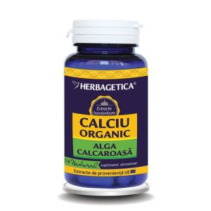 Calciu Organic Herbagetica 30cps