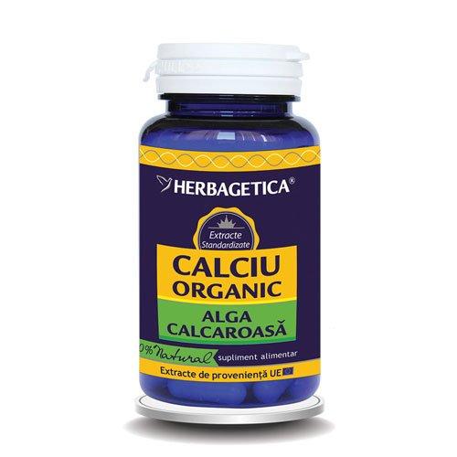 Calciu Organic Herbagetica 60cps