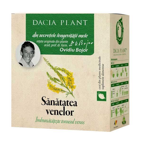 Ceai Sanatatea Venelor 50g DACIA PLANT