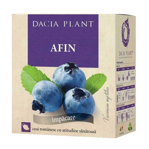 Ceai de Afin 50g DACIA PLANT
