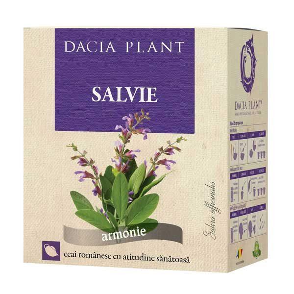 Ceai de Salvie Dacia Plant 50g