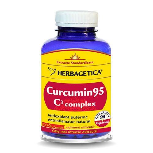 Curcumin 95 C3 Complex Herbagetica 120cps