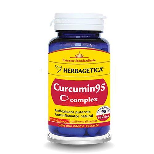Curcumin 95 C3 Complex Herbagetica 60cps