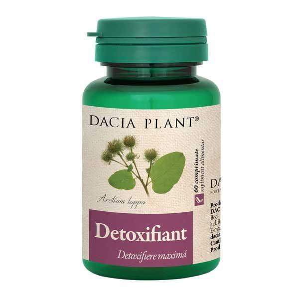 Detoxifiant 60cpr DACIA PLANT