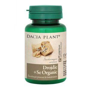 Drojdie cu Seleniu Organic Dacia Plant 60cpr
