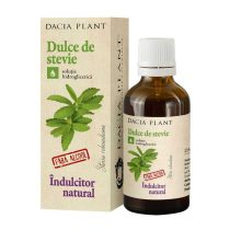Dulce de Stevie Dacia Plant Indulcitor Natural 50ml
