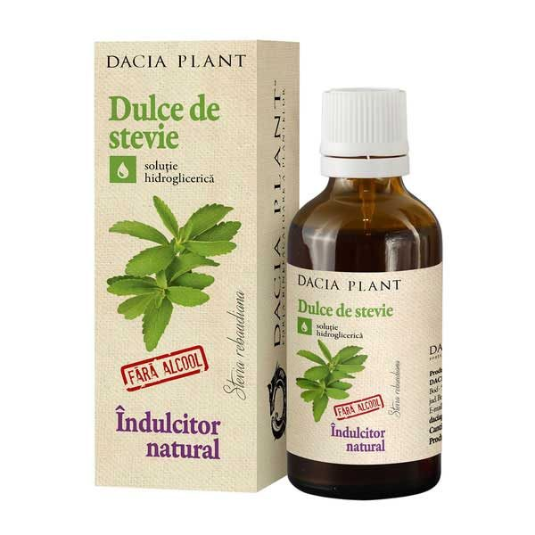 Dulce de Stevie Indulcitor Natural Dacia Plant 50ml