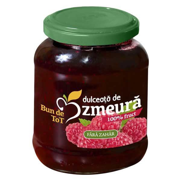 Dulceata de Zmeura fara Zahar Dacia Plant 360g