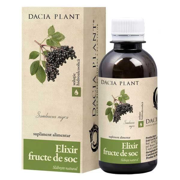 Elixir Fructe de Soc Remediu 200ml DACIA PLANT