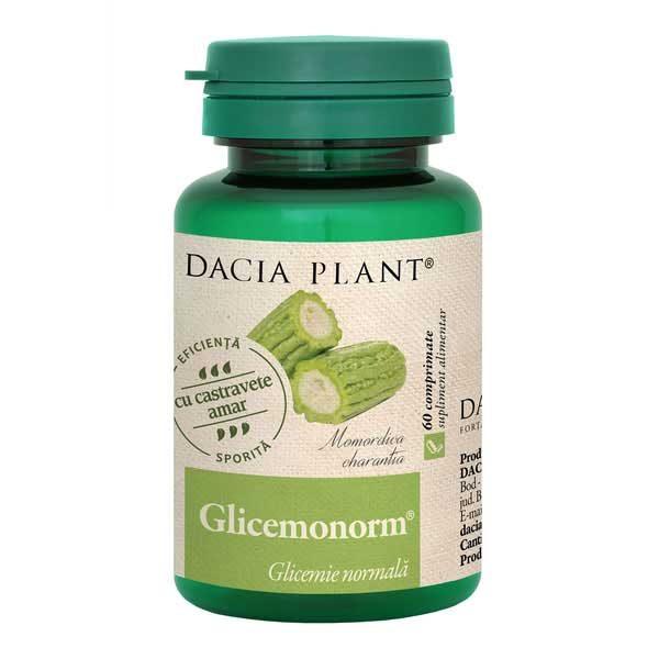Glicemonorm 60cpr DACIA PLANT