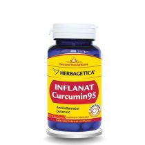 Inflanat Curcumin 95 Herbagetica 60cps