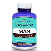 Man Zen Forte Herbagetica 120cps