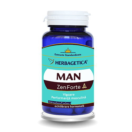 Man Zen Forte Herbagetica 60cps
