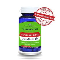 Silymarin 80/50 (Silimarina) Detox Forte Herbagetica 30cps