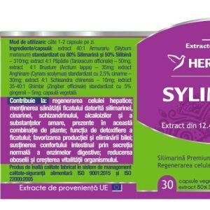 Silymarin Complex Herbagetica 30cps