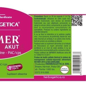 Urimer Akut Herbagetica 30cps