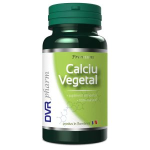Calciu Vegetal DVR Pharm 60cps